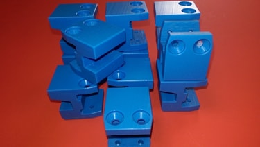 plastic part for conveyor machine