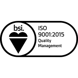 BSI Registered - ISO 9001 Quality Management